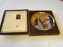 Norman Rockwell's Colonials Words of Comfort collector plate 10208C 1986 #% - $19.29