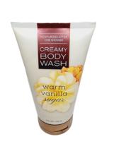 Bath & Body Works Warm Vanilla Sugar Creamy Body Wash 8oz New Free Shipping - $15.83
