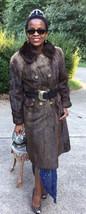 Mint Designer Bronze sable color Lontra canadensis otter Fur Coat Jacket... - $999.99