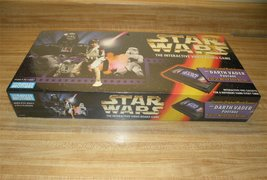 Star Wars Interactive Video Board Game VHS MIB ... - $24.95