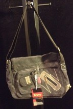 Bravo Black Satchel With Adjustable Straps B#6 - $18.68
