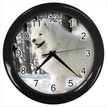 Samoyed Wall Clock - Puppy Dog - $17.41