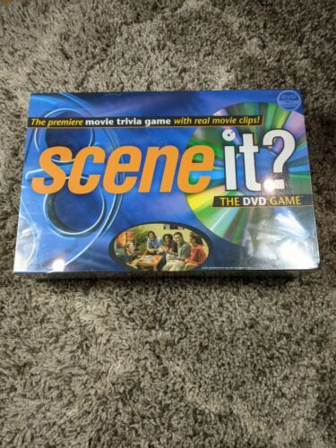 Primary image for Scene It Movie Trivia 1st Edition DVD Game Mattel 2003 New Factory Sealed
