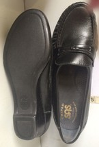 SAS Tripad Comfort Woman's  Easier Black Made in USA 5.5 WW Leather Mocc... - $69.30