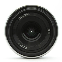 Sony SEL 16F28 16mm F2.8 Lens for Sony E-mount (White Box) SEL16F28 - $148.90