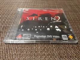 SIREN 2 Promotion DVD Video New Unopened Video Game Game Toy - $127.84