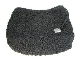 Vintage Persian Lamb MUFF Black 29914 Large - $89.09
