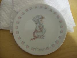 1998 #228435 PRECIOUS MOMENTS MINI PLATE - MARCH - $15.00