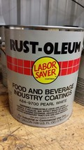 RUST-OLEUM food and beverage coating pearl white A84-9700 industrial - $48.51