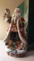 Fitz Floyd Christmas Lodge Bell Limited Edition 2001 New in original box - $23.76