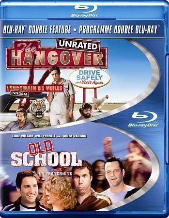 Hangover & Old School (Blu-ray Disc Set) Comedy Movies New