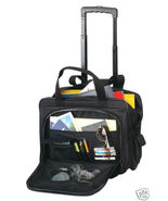 TravelwellWheel Dual Handle Rolling Soft Computer Notebook Laptop Case O... - $100.00