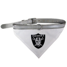 Oakland Raiders Bandana Dog Collar Officially Licensed NFL Products - $14.99