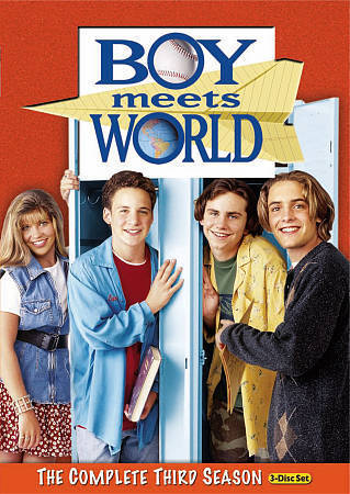 Boy Meets World - The Complete Third Season 3 (DVD Set) TV Comedy Series New