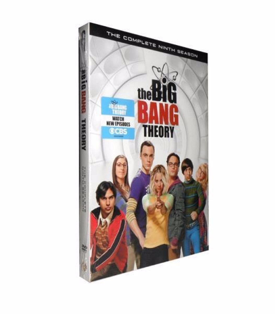 The Big Bang Theory: The Complete Ninth Season 9 (DVD 3-Disc Set) TV Series New