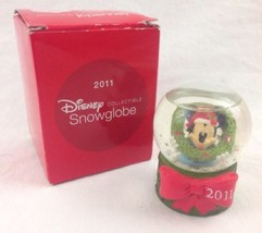 JC Penney Mickey Mouse Disney Snow Globe Black ... - $9.48