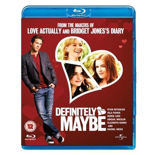 Definitely, Maybe (Blu-Ray Disc) Comedy Movie New