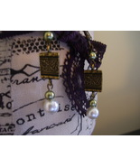 Vintage Pearl Drops Earrings - $5.00