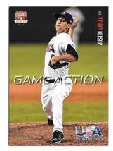 2014 Justin Garza 10 Card Lot - Panini USA Baseball Rookie Game Action -... - $5.69