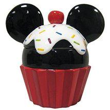 Westland Giftware Mickey Cupcake Ceramic Cookie Jar, Multicolor - $72.38