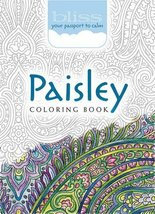 BLISS Paisley Coloring Book: Your Passport to Calm (Adult Coloring) [Pap... - $6.93