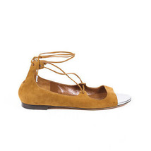 Jimmy Choo Vernie Suede Lace Up Sandals SZ 39 - $85.00