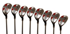 "Senior Men's Majek Golf All Hybrid Full Set (4-SW) Senior ""A"" Flex Utili... - $278.89"