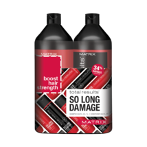 Matrix Total Results-SoLong Damage Shampoo & Conditioner 33.8 oz  Liter Duo - $29.92+