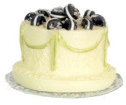DOLLHOUSE MINIATURE 1 PC CAKE  #WA3643 - $6.24