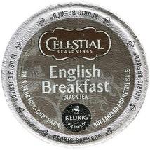 Celestial Seasonings English Breakfast Tea, 24 Kcups, FREE SHIPPING  - £14.69 GBP