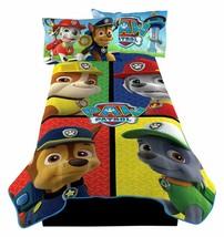 PAW Patrol Puppy Rescue Microraschel Blanket Cartoon Dogs Bedding Bedroo... - $19.99