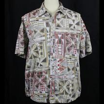 Cooke Street Honolulu Hawaiian Short Sleeve 100% Cotton Shirt Men Sz XL EUC - $23.38