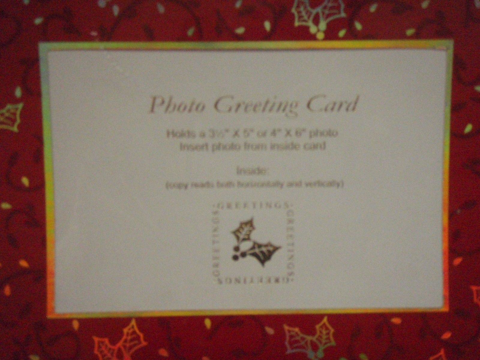 Burgoyne Christmas Cards for Photo 3.5 x 5 and 50 similar items