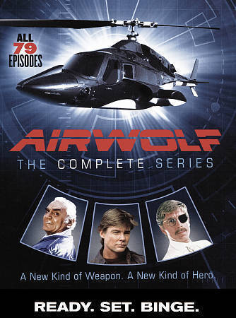 Airwolf: The Complete Series (DVD, 2016, 14-Disc Set) TV Series New