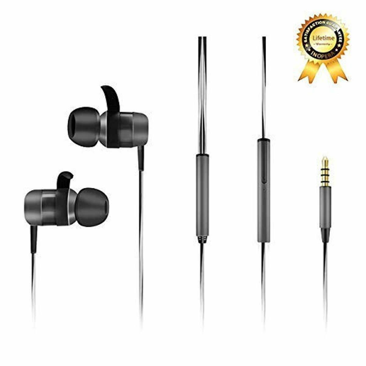 inOpera Audio Wired Sport Earbuds In-Ear Wired Sport Headphones for Cell Phones