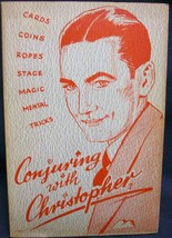 Conjuring with Christopher by Christopher, Milbourne - $43.02