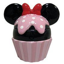 Westland Giftware Minnie Cupcake Ceramic Cookie Jar, Multicolor - $72.38