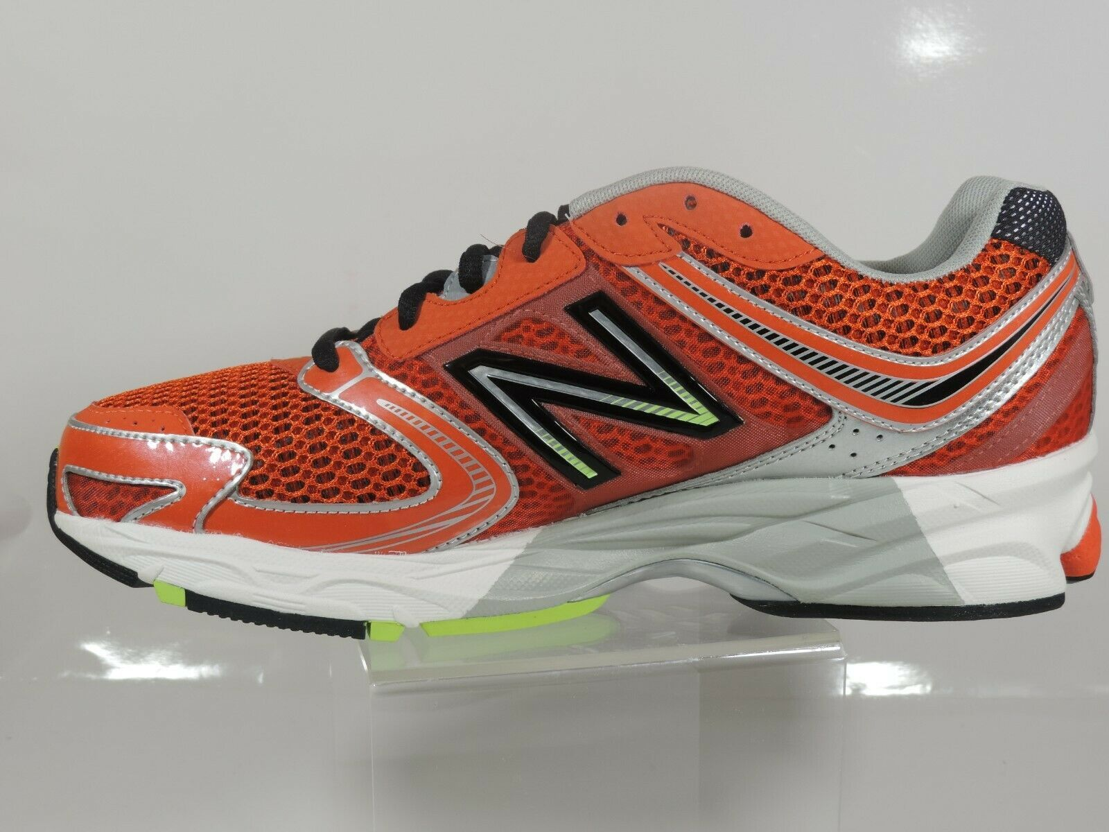 New Balance Men's Shoes M770CT3 Athletic Running Sneakers Red Black Mesh image 2