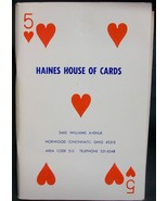 Haines House of Cards #5 - $23.87