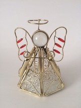 Stained Glass Angel with Tea Light Holder - $11.88
