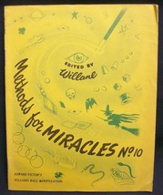 Methods for Miracles #10 by Victor Edward - $23.87