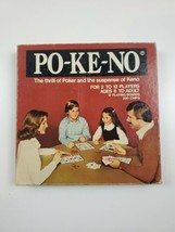 Po Ke-No Family Card Game - 12 Board & 200 Chip Set PO2 US Playing Card Co. - $9.41