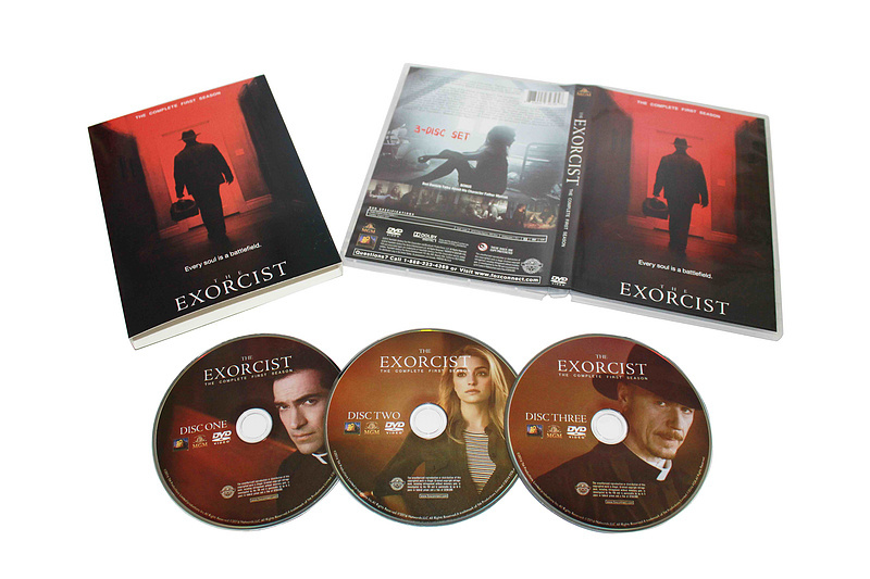 The Exorcist The Complete Frist Season 1 One DVD Box Set 3 Disc Free Shipping