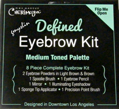 Max Makeup Cherimoya 8 Piece Eyebrow Kit  MEDIUM - $9.99