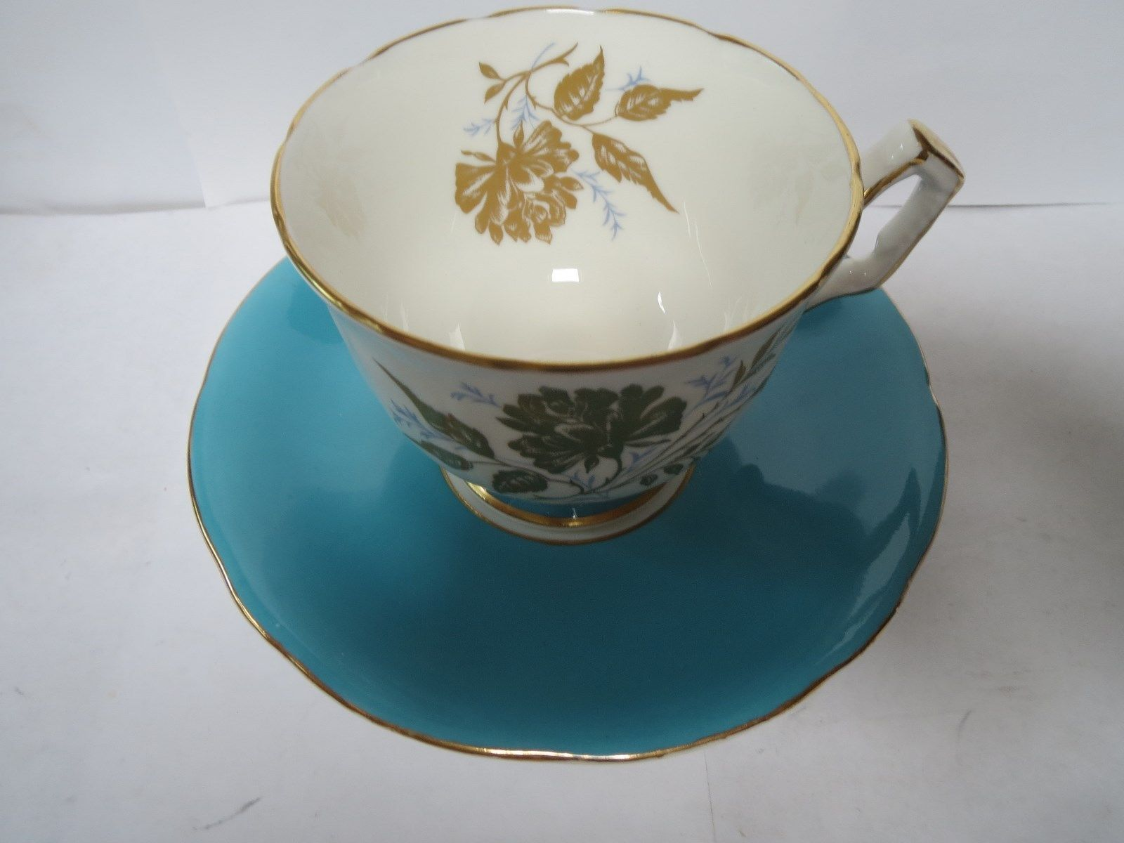 AYNSLEY TEA CUP AND SAUCER              K