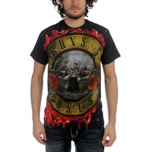 Men's Guns n Roses Bloody Bullet T-Shirt Offici... - $22.00