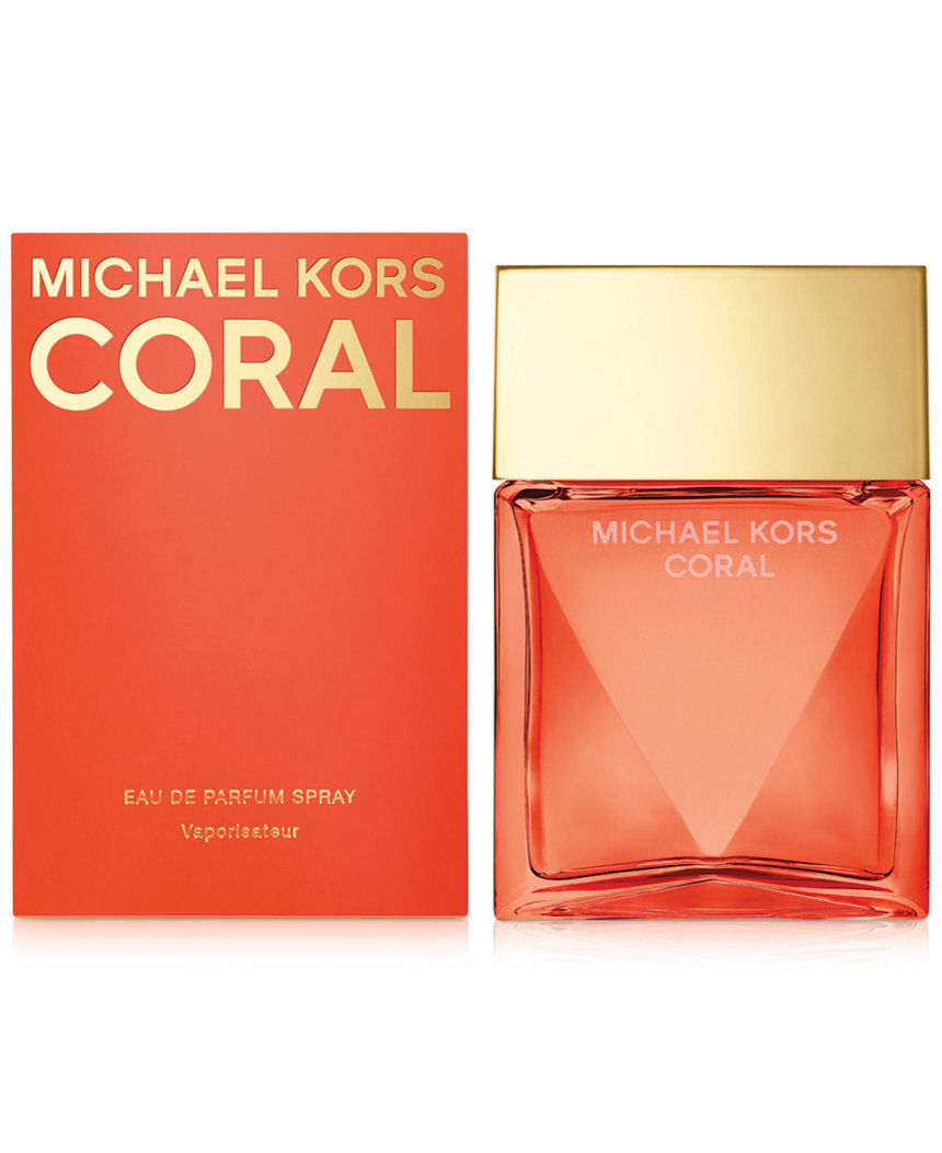 MK Coral Michael Kors Eau De Parfum Women Perfume 3.4 oz Fragrance Spray~Sealed