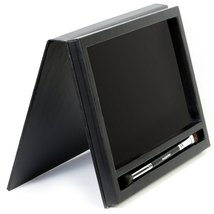 Large Black Empty Magnetic Makeup Palette with Mirror: Organizer Case for Eye... image 8