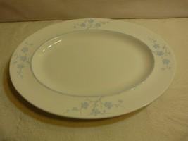 """Spode Copeland England Blanche de Chine Geisha Blue 15"""" Oval Serving Pla... - $120.98"""