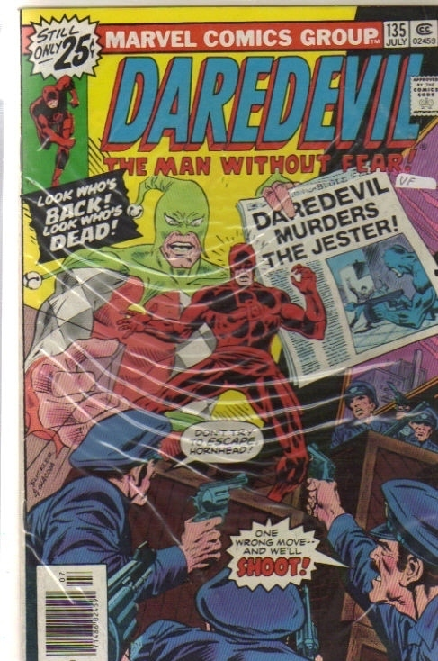 Daredevil 135 [Comic] by Marvel Comics